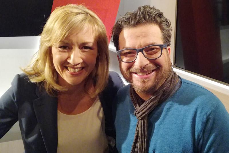 WDR Lokalzeit Dortmund, Sabine Ziemke und Komiker Hennes Bender