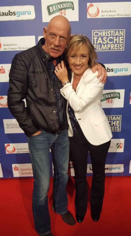 Christian-Tasche Filmpreis-Gala in Unna mit Schauspieler Joe Bausch, Sabine Ziemke