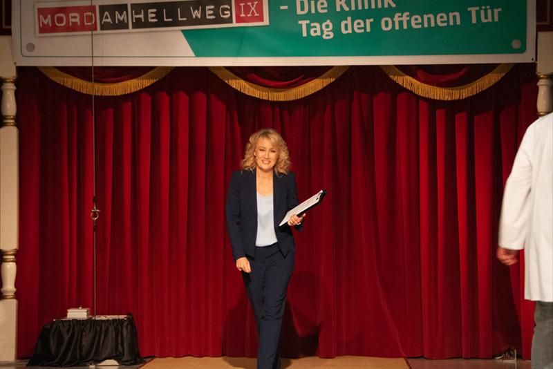 """""""Mord am Hellweg 2018"""" Auftakt Sabine Ziemke, Foto © gk-Medienproduktion (Gerhild Krauß)"""