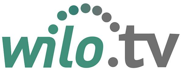 Auf diesem Bild sieht man das Logo von wilo Business-TV.